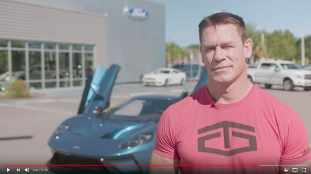Ford is suing John Cena after contract-violating sale of his new Ford GT one month into ownership.http://ift.tt/2jzNbfC