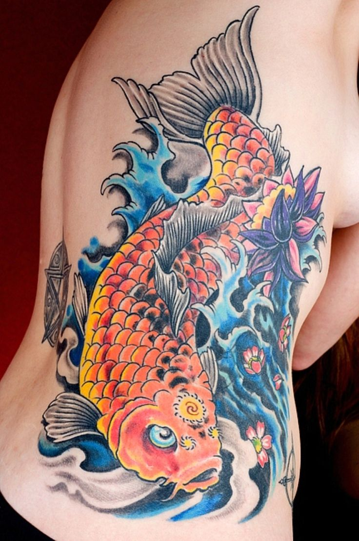 Best koi fish tattoo ideas tattoo ideals pinterest for Best koi fish tattoo