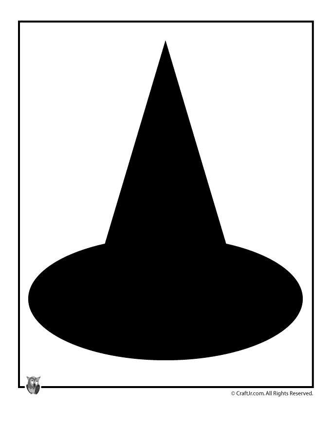 Witch hat printable template halloween ideas i like for Paper witch hat template