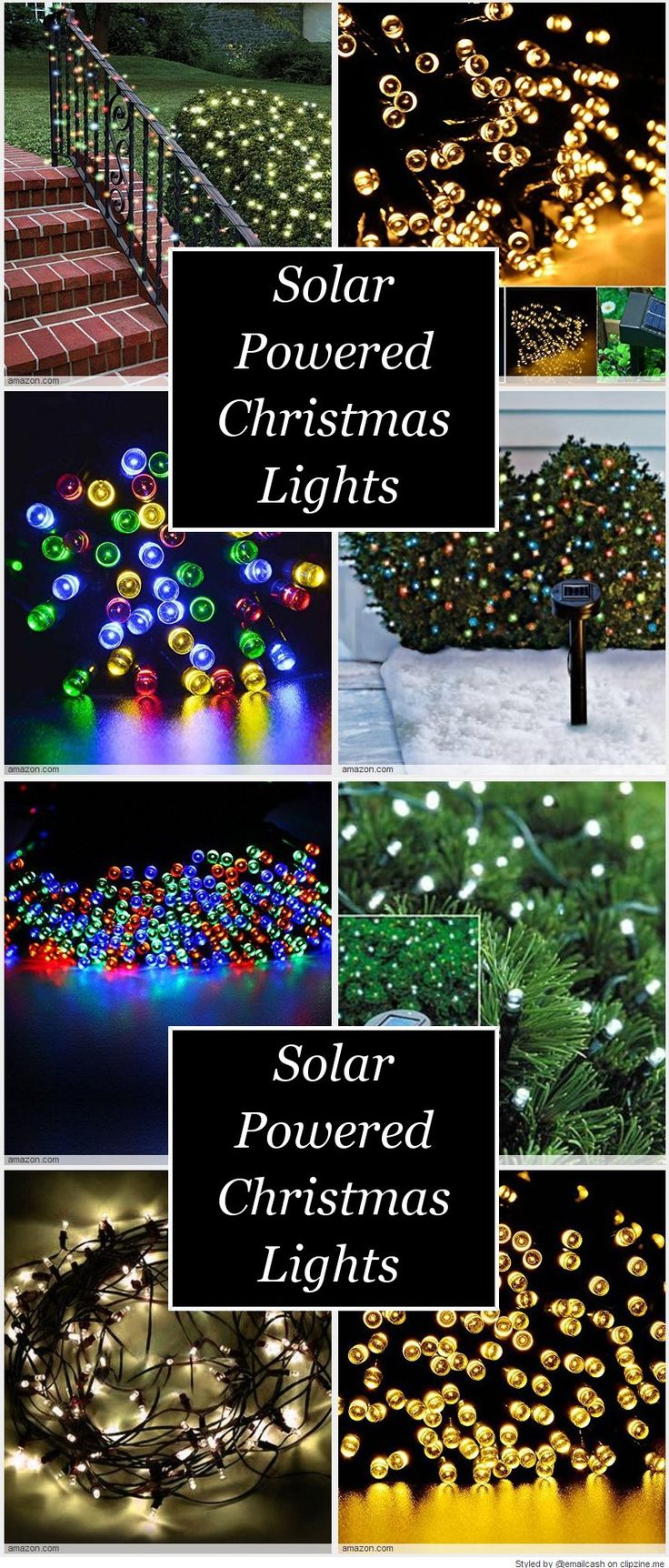Best Cheap Solar Powered Christmas Lights