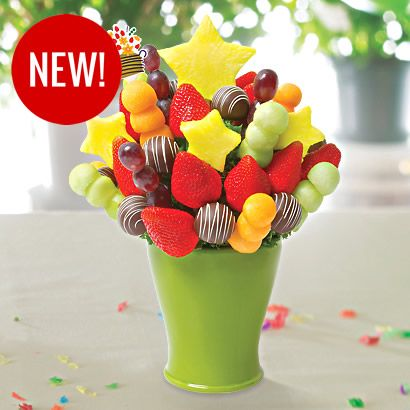 Edible Arrangements - LOVE these!! So lucky that my friend owns this one in town so I can stop in for a treat every once in awhile! Lol