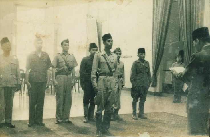 Great General Sudirman. First chief of Indonesian Army 1945 - 1950