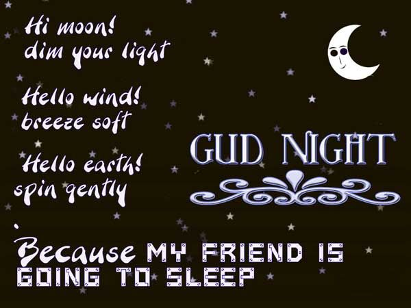 Best Good Night Image Quotes And Sayings - Page 2