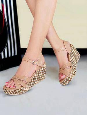 Sandal Wedges Motif GF01