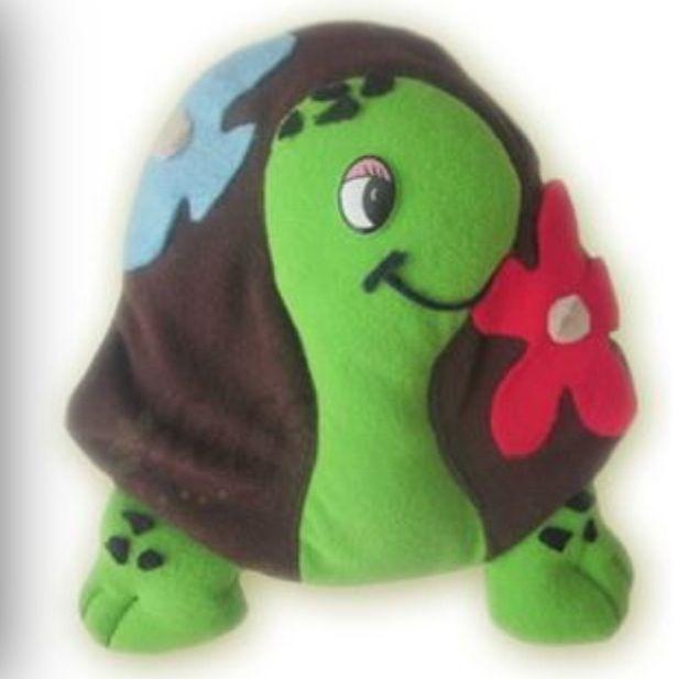Almohada de fieltro, Tortuga!!!