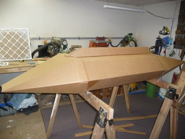 how to make a boat that floats out of cardboard