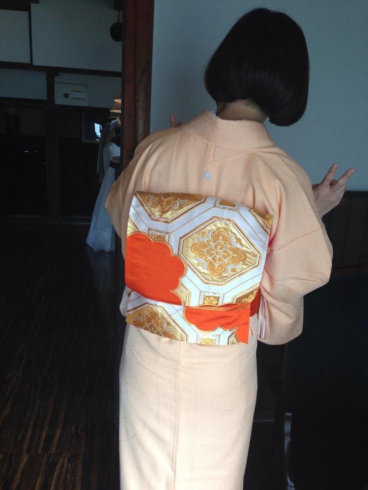my mother's kimono  iromuji