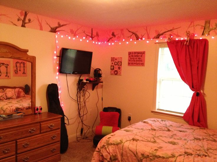 My Pink Camo Room