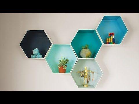 DIY Room Decor & Organization For 2017 - EASY & INEXPENSIVE Ideas! #01 - YouTube