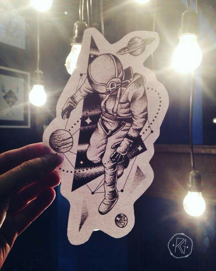astronaut tattoo tumblr - photo #42