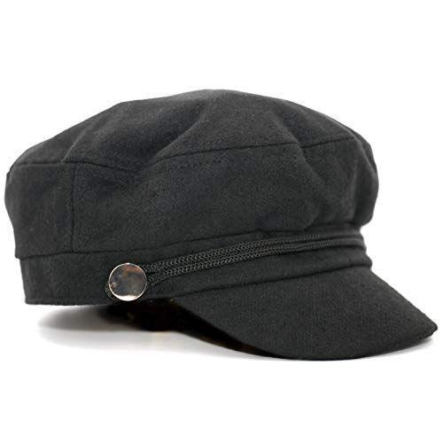 89d9dbb67c5 accsa Women Bakerboy Wool Blend Fashion Black Grey Cabbie Newsboy Beret Cap  Valentines Gifts  Newsboy Caps