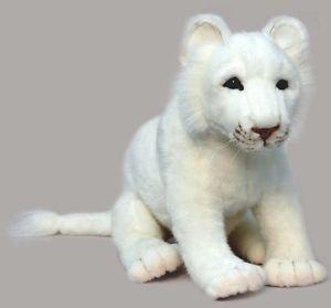 Realistic Stuffed Animals | ... -White-Lion-Cub-21-5237-Portraits-of-Nature-Realistic-Stuffed-Animal