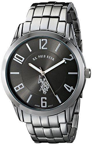 1525 best images about men watches mens products u s polo assn classic men s usc80038 analogue black dial bracelet watch product details