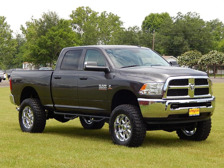 Lifted 2014 Ram 2500 4X4 ready for a little fun in the mud. #RamTrucks #liftedtrucks