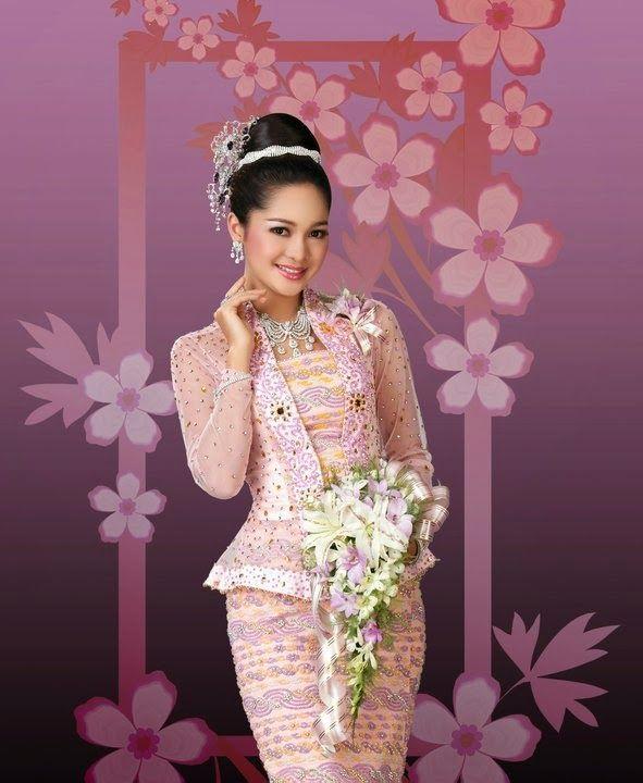 Moe Yu San In Random Traditional Costume And Model Fashion -7212