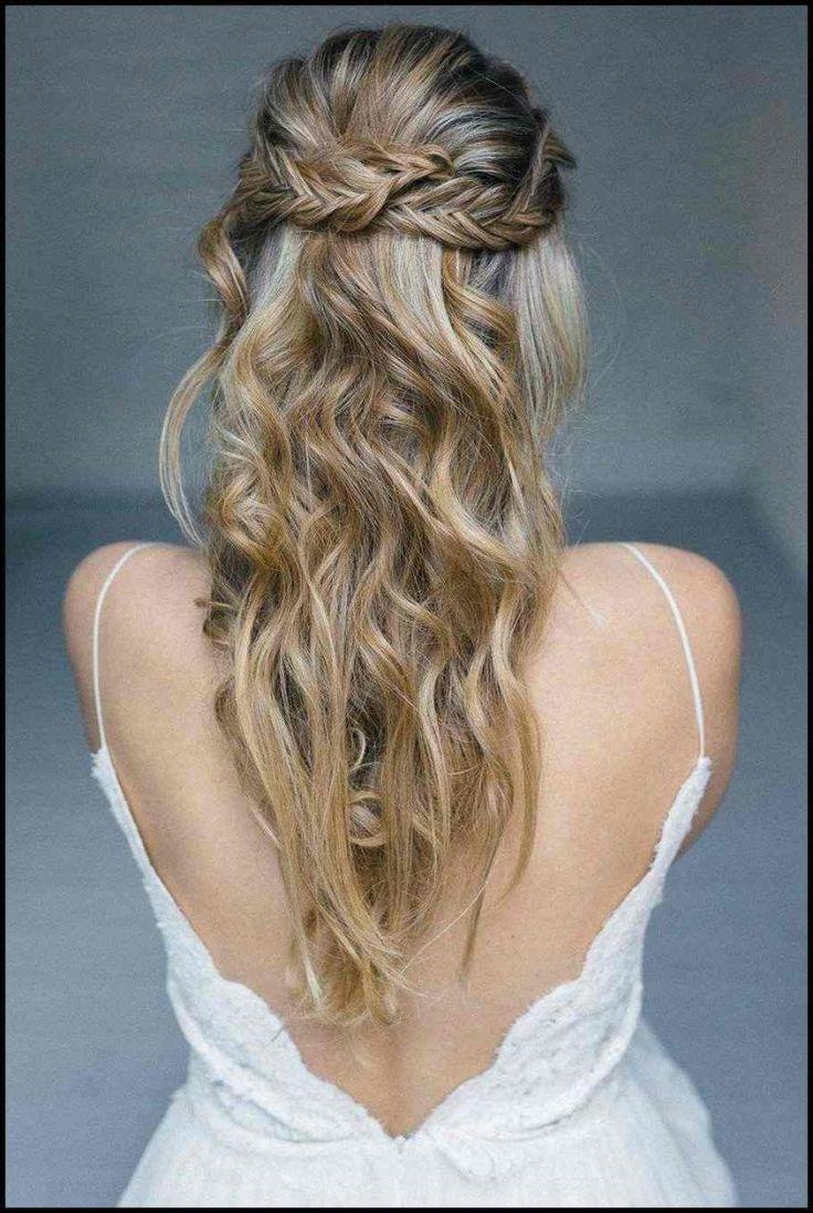Abschlussball Frisuren Mittellange Haare Offen Elegant Frisur Fur