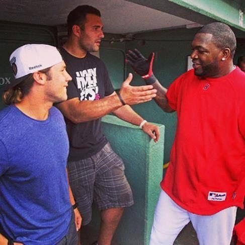 TBT.  Edelman w the long hair in the dugout w Ortiz