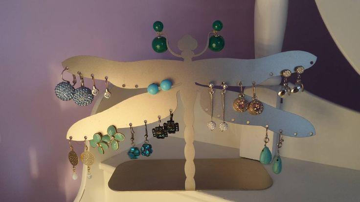 #portaorecchini #zambaldodesign #zambaldosrl #home #decor #creativity #creativita #handmade #eleganza #elegant #madeinitaly #ordine #earrings #orecchini #libellula #fashion #fashionista #accessories #accessory #accessori #inox #shoponline  #turchese  fantasia