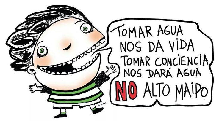 NO ALTO MAIPO ! AGUA PARA SANTIAGO! SALVEMOS LOS RIOS ! RIOS LIBRES EN CHILE !