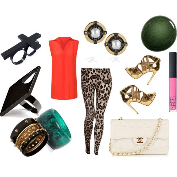 Kitty Kat, created by mismatchedgirl on Polyvore