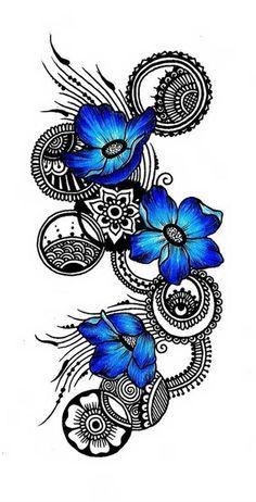Hawaiian Tribal Tattoos.... love this, maybe purple instead! Mais