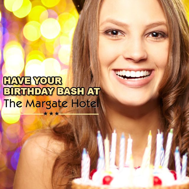 #MargateHotelKZN is the perfect #venue to host your next #birthday bash suzette@margatehotel.co.za | (039) 312-1410