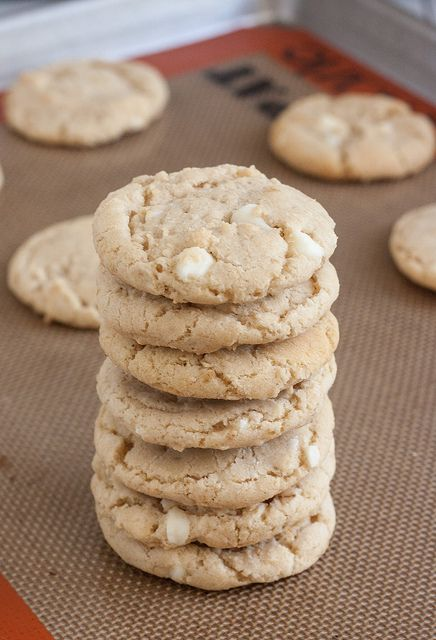 Chewy Coconut Oatmeal White Chocolate Cookies by Traceys Culinary Adventures