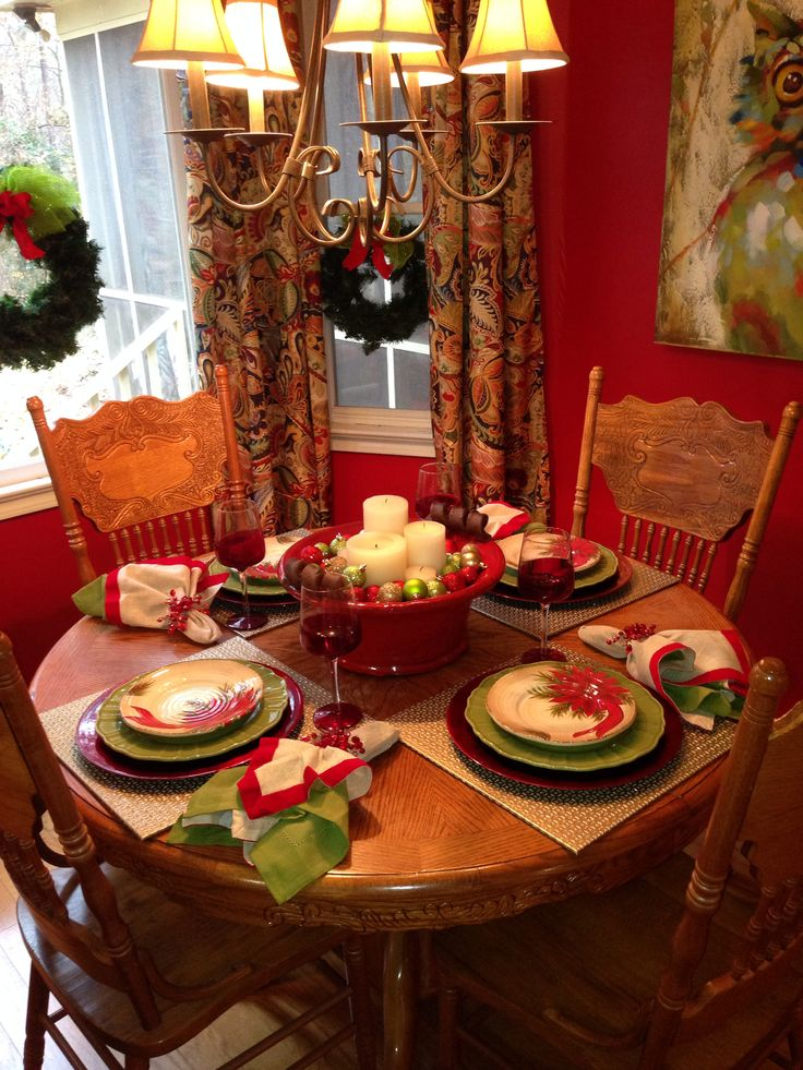 288 best Classy Christmas Place Settings images on Pinterest