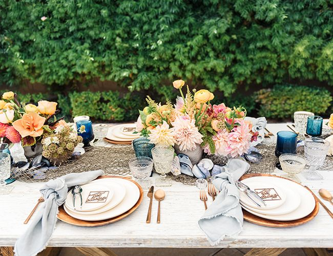 This colorful spring clambake is the perfect way to celebrate! Kick off spring with an outdoor bash with all your friends and good eats - of course!