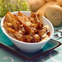 Poutine :) I have no need for a recipe, I know how to make this, I live in Canada!! lol. It does however have to have space on my board as a very honourable mention!!!
