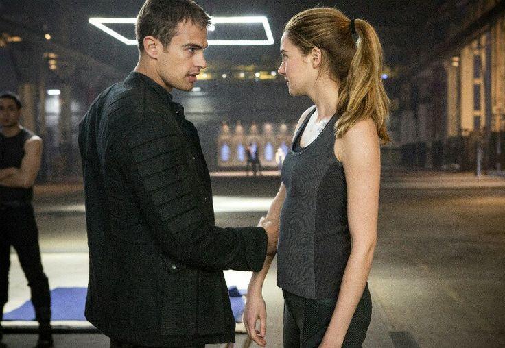 Tris and Tobias so cute!!!
