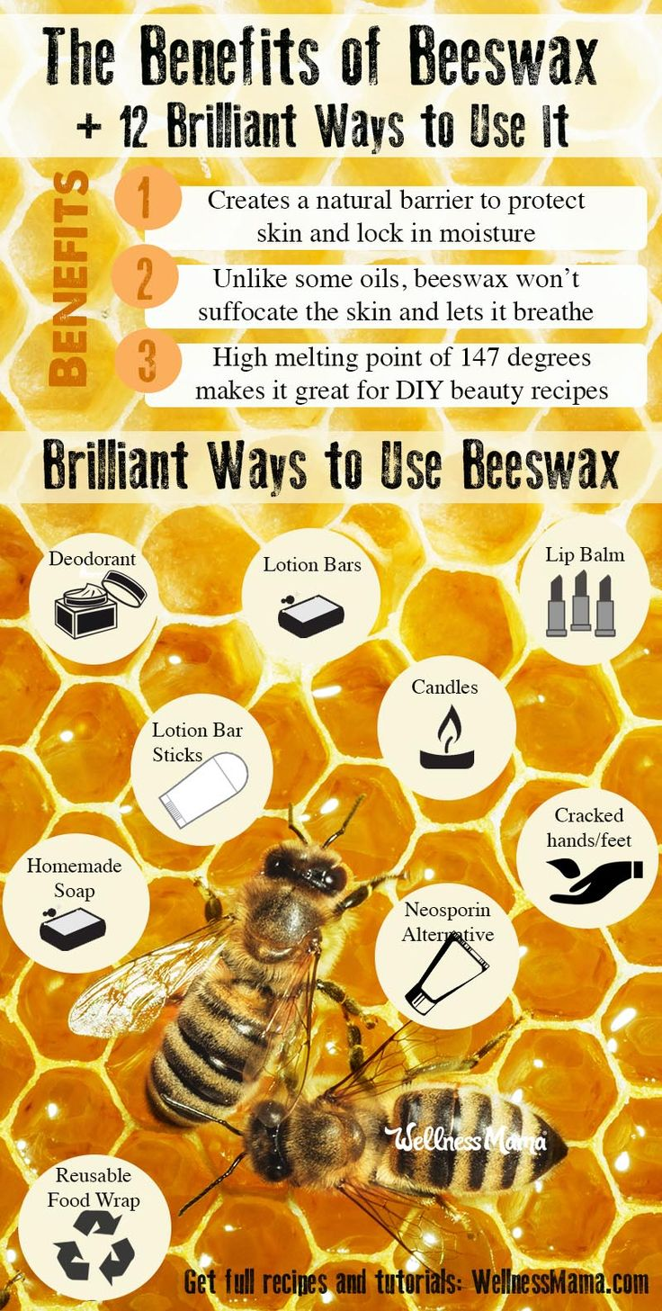 Benefits of Beeswax (Plus,12 Creative Ways to Use It ...