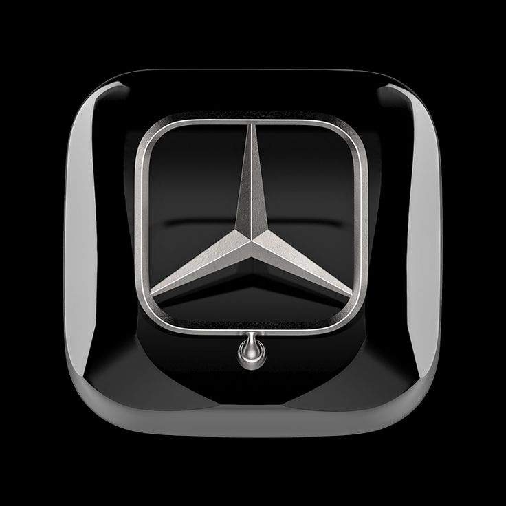 #Mercedes 3D iOS #icon