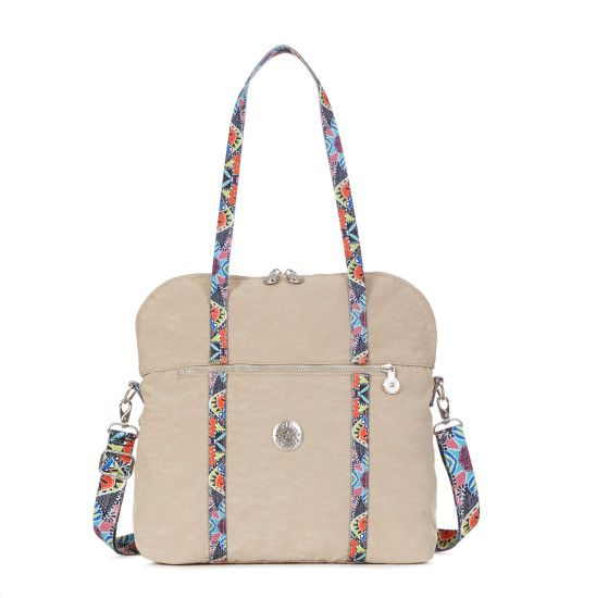New Maddy Handbag - Sand Castle | Kipling