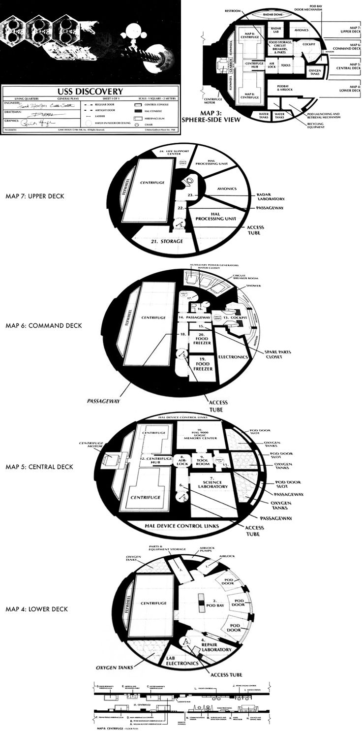 739 best traveller images on pinterest deck plans floor plans 2001 uss discovery deck plans via httpstarfrontiers baanklon Choice Image