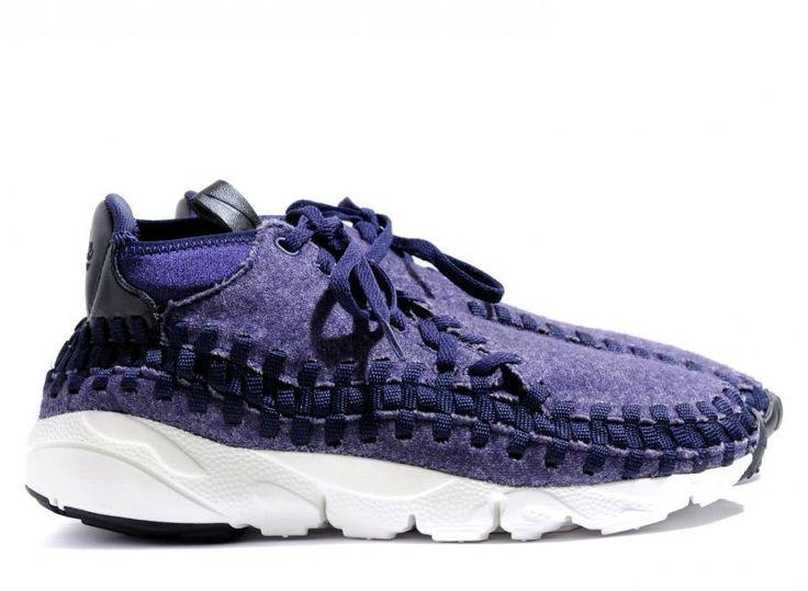 Nike air footscape woven chukka se obsidian