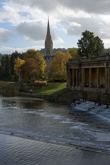 River Avon, Bath, England