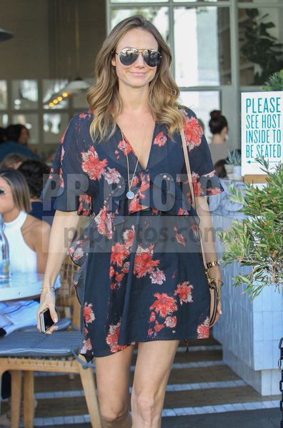 Stacy Keibler Sighted in Beverly Hills on November 14 2017