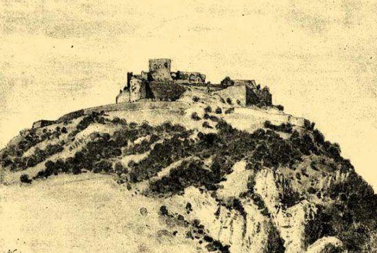 Cetatea Deva - gravuri, desene, picturi