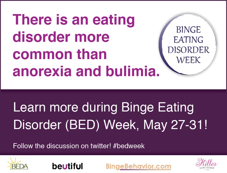 an assignment on binge eating disorder Binge eating disorder (bed) is a severe, life-threatening, and treatable eating  disorder characterized by recurrent episodes of eating large quantities of food.
