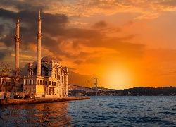 Most, Istambuł, Meczet
