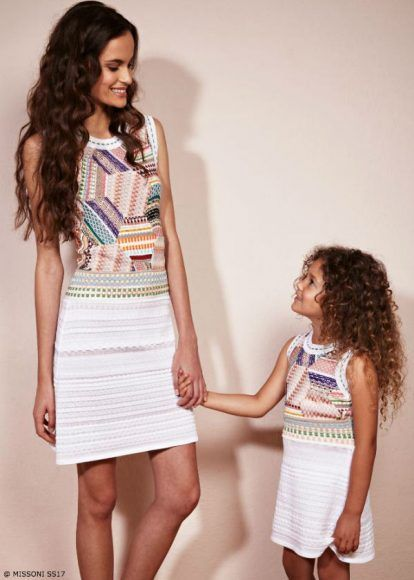 Love this Missoni MINIMiss Mommy Me Dress from the Missoni Kids Spring Summer 2017 Collection