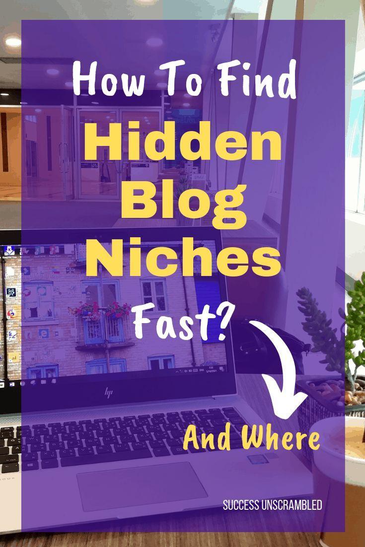 Find The Hottest Untapped Niche Markets Using This Blog Niche Niche Marketing Blog Content Planner