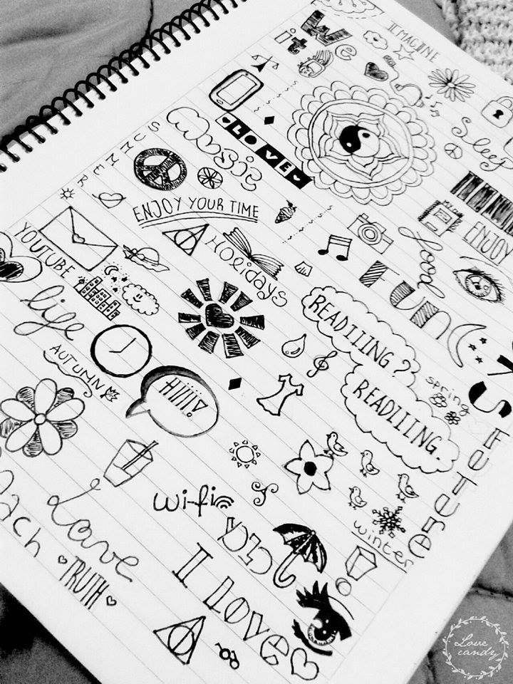 Cool Doodle Ideas With Images Doodle Art Notebook Doodles