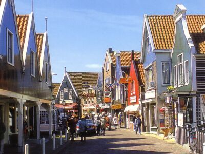 Volendam ~ The Netherlands ~ It is a town in Northern Holland in the municipality of Edam-Volendam. The town has about 22,000 inhabitants.