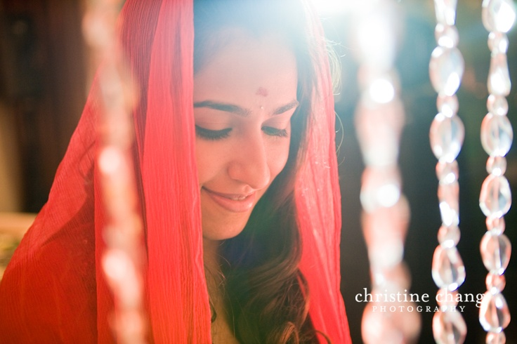 Glowing Indian Bride // Destination Wedding in Jakarta // Christine Chang Photography