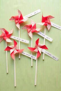 place cards or favors?