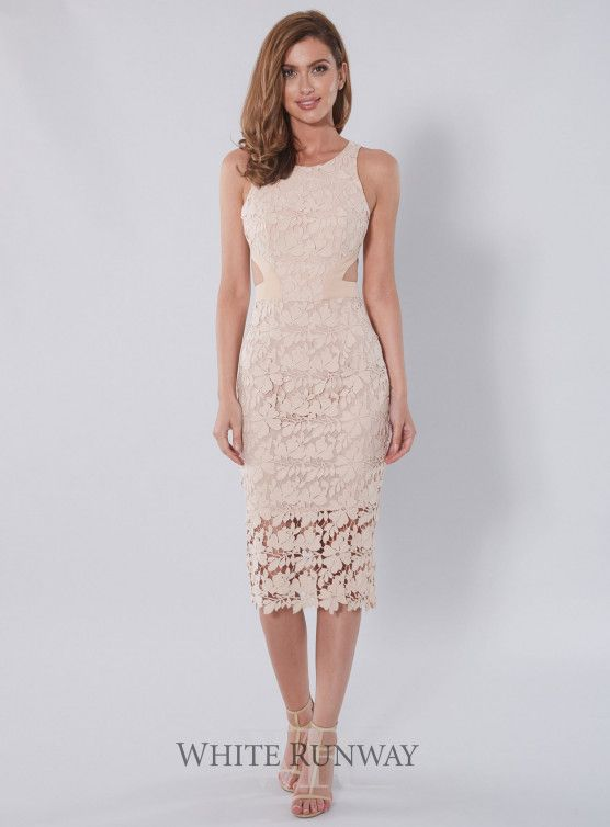 Amalia Lace Cutout Dress