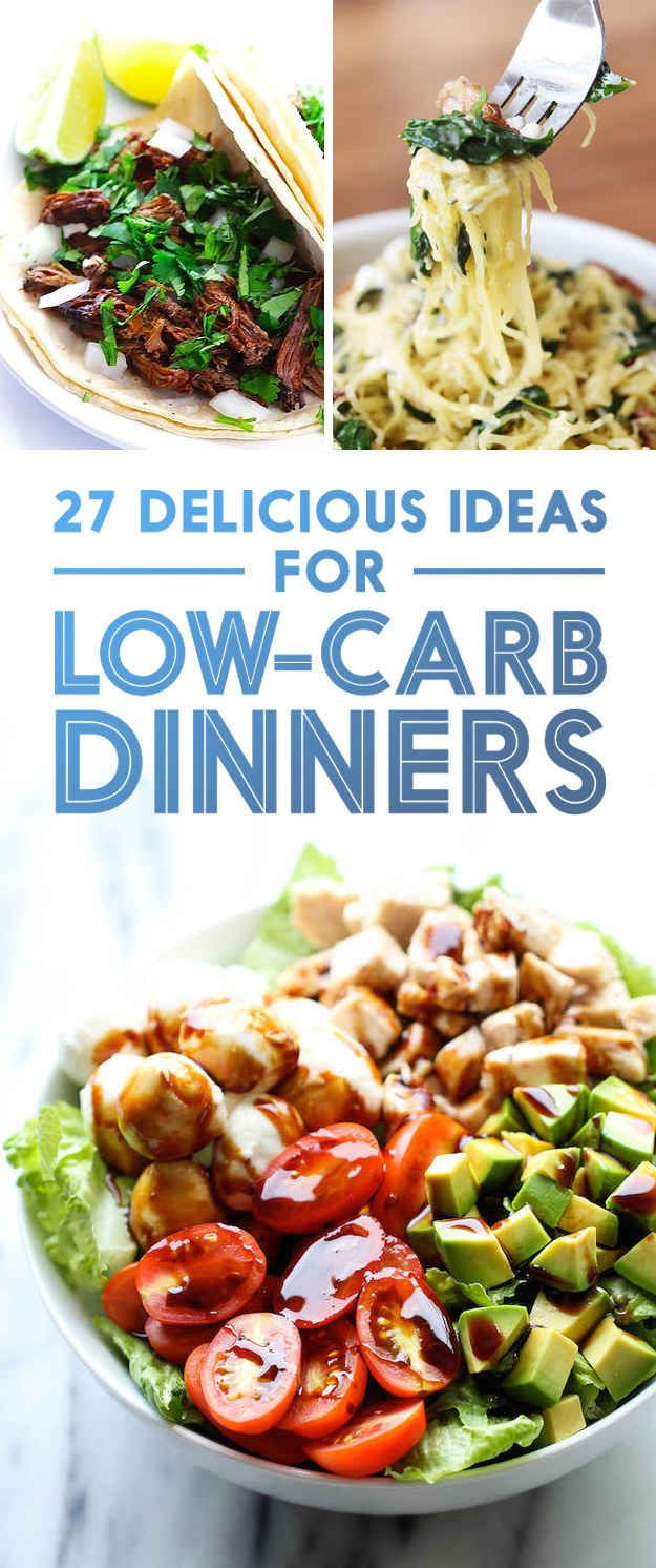 27 Low-Carb Dinners That Are Actually Delicious. These look amazing