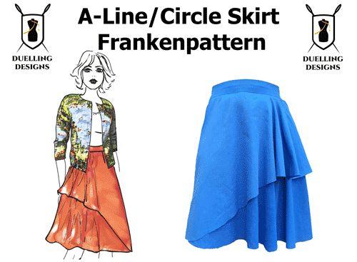 Frakenpattern Skirt
